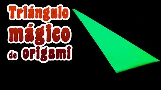 getlinkyoutube.com-Triángulo mágico │ Origami