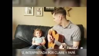getlinkyoutube.com-Hija e padre cantan yo soy tu amigo fiel / yo soy tu amigo fiel / toy story