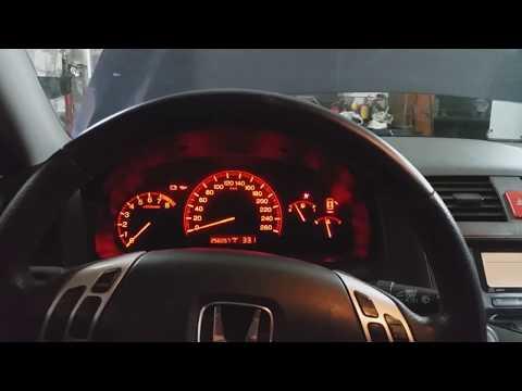 Honda Accord cl 7- cl 9 На приборке загорелся значок SRS, нет сигнала от первого правого датчика
