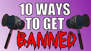 10 ways to get banned on ROBLOX 2