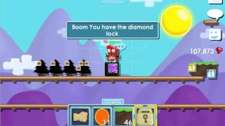 getlinkyoutube.com-Growtopia-How to make Diamond Lock.