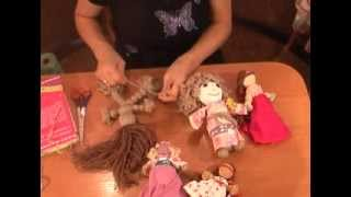 getlinkyoutube.com-Быстро делаем куклу мотанку своими руками. Кукла мотанка