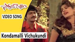 Kondamalli Vichukundi Mama Video Song || Soggadi Pellam Movie Songs || Mohan Babu, Monika Bedi
