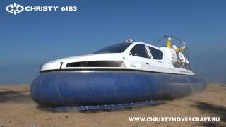 getlinkyoutube.com-New russian Subaru powered hovercraft Christy 6183 (Video Mix)