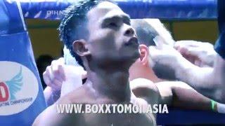 getlinkyoutube.com-Shah (Malaysia) VS Juhedi (Indonesia), OCPD Cup. MUAYTHAI Fight!