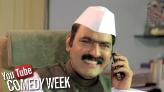 getlinkyoutube.com-Makarand Anaspure as Mantri - Khurchi Samrat, Jukebox - 4, Comedy Week