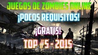 getlinkyoutube.com-Top #5 - ¡Juegos de Zombies Online De Pocos Requisitos! - ¡HD! - Loquendo