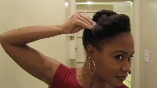 getlinkyoutube.com-Twisted Updos & Pompadours- Protective Hairstyle