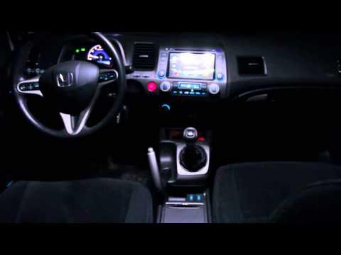 Led подсветка всех кнопок Civic 4D | DIY Led button illumination Civic FD