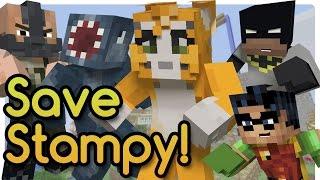 getlinkyoutube.com-Bane Kidnaps Stampy! (Minecraft Roleplay) Batman and Robin