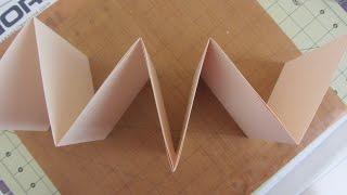getlinkyoutube.com-How to Make a Accordion Fold Mini Album Crafts With Paper Tutorial