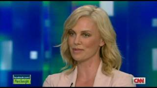 Charlize Theron Speaks Afrikaans width=