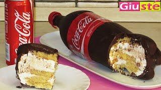 getlinkyoutube.com-Gâteau façon bouteille de Coca Cola XXL