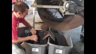 getlinkyoutube.com-Harvesting Worms at Vermont Vermiculture Worm Farm
