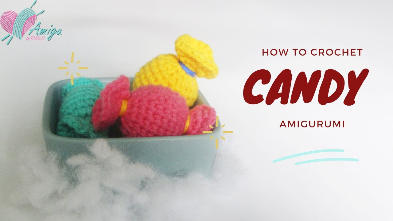 Free Pattern – How to crochet CANDY amigurumi