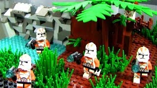 getlinkyoutube.com-Lego Star Wars Republic Training Outpost MOC