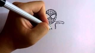 getlinkyoutube.com-วาดการ์ตูนกันเถอะ สอนวาดการ์ตูน สไปเดอร์แมน ง่ายๆ หัดวาดตามได้
