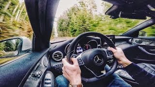 getlinkyoutube.com-Mercedes Benz C Class C400 500 HP GAD Test Drive by AutoTopNL