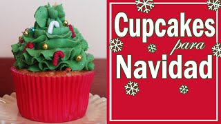 getlinkyoutube.com-Como preparar unos cupcakes navideños