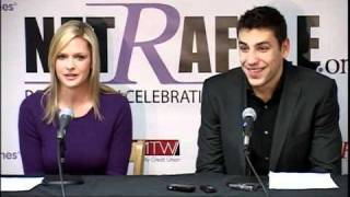 getlinkyoutube.com-Milan Lucic & Kathryn Tappen Press Conference