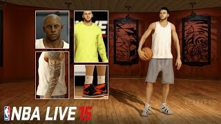 getlinkyoutube.com-NBA Live 16 - All Features Shoes/Skins/Outfit/Hair/Tattoos (SHOWCASE)