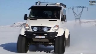 getlinkyoutube.com-Mercedes Sprinter 4x4 Iceland Offroad