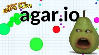 getlinkyoutube.com-Pear Plays - Agar.io #3: Double Pear Across the Sky