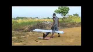 getlinkyoutube.com-pesawat dengan mesin pemotong rumput dari bungo