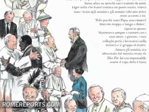 A childrens book that helps tell the story of John Paul II