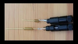 getlinkyoutube.com-Modifying a 2 4 GHz dipole antenna to 5 GHz