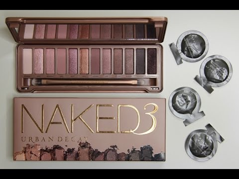 Naked 3 Palette Reveal [Swatches on Brown Skin] Nicole Charnel