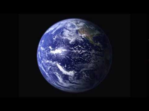 Animated Earth Rotating in HIGH DEFINITION