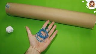 getlinkyoutube.com-How to make a Bazooka that Shoots - (Super Powerful / Easy)