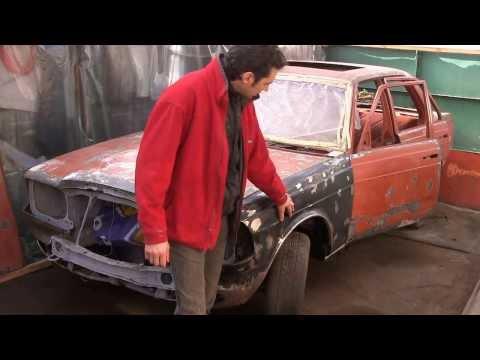Mercedes restoration w123 видео 67, продолжаем!