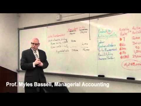4 of 10 Managerial Accounting Basics - 4 Activity Based Costing, Process Costing