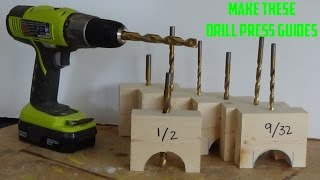 getlinkyoutube.com-Drill Perfect Holes Every Time | Simple Drill Guides