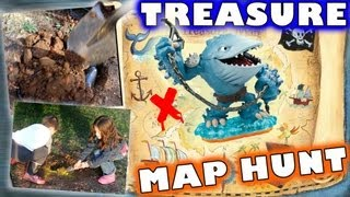getlinkyoutube.com-a Real Thumpback Treasure Hunt  w/ Map (New Meaning for Skylanders HUNTING)