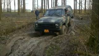 getlinkyoutube.com-Jeebee 4x4 Wamel - K5 6.2 V8 Army Diesel Blazer M1009 off road