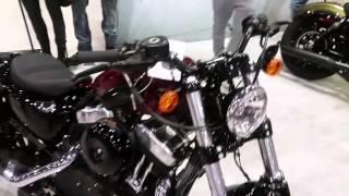 getlinkyoutube.com-Nouveau Harley-davidson sportster 883 iron 2016
