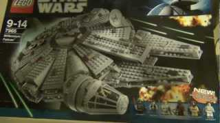 getlinkyoutube.com-Lego Star Wars Millenium Falcon 7965