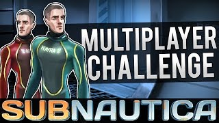 getlinkyoutube.com-Subnautica Multiplayer Challenge - WHO WILL WIN?   Subnautica Multiplayer Gameplay w/ WeaselZone