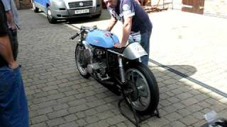Home made 6 cylinder Motorbike using a Suzuki 250 engine
