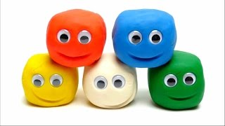 getlinkyoutube.com-Play-Doh Surprise Balls with Eyes