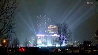Elbphilharmonie  Lightshow zur Eröffnung - Hamburg 2017