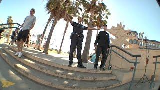 getlinkyoutube.com-Diego Najera Behind The Scenes: Nollie Tre Santa Monica Triple Set