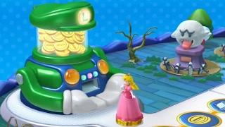 getlinkyoutube.com-Mario Party 10 - Luigi Board (2 Player amiibo Party)
