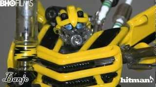 getlinkyoutube.com-Transformers Bumblebee Banjo Hitman Collab Torch Tube