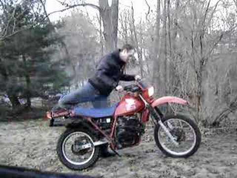 1983 Honda XL600R Start and Run