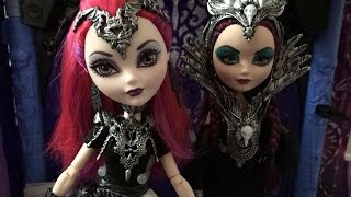 getlinkyoutube.com-Ever After High Mira Shards doll review!