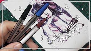 getlinkyoutube.com-Ballpoint Pen Challenge